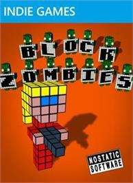 Box cover for Block Zombies! on the Microsoft Xbox Live Arcade.