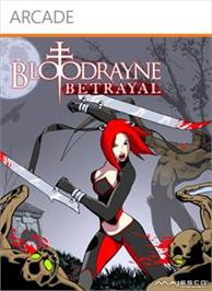 Box cover for BloodRayne: Betrayal on the Microsoft Xbox Live Arcade.