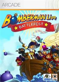 Box cover for Bomberman Battlefest on the Microsoft Xbox Live Arcade.