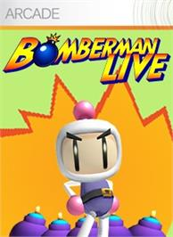 Box cover for Bomberman LIVE on the Microsoft Xbox Live Arcade.