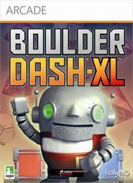 Box cover for Boulder Dash-XL on the Microsoft Xbox Live Arcade.