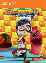 Box cover for BurgerTime World Tour on the Microsoft Xbox Live Arcade.