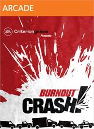 Box cover for Burnout Crash! on the Microsoft Xbox Live Arcade.