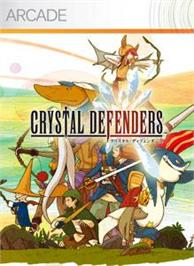 Box cover for CRYSTAL DEFENDERS on the Microsoft Xbox Live Arcade.
