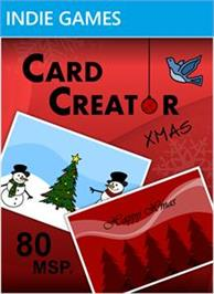 Box cover for Card Creator Xmas on the Microsoft Xbox Live Arcade.