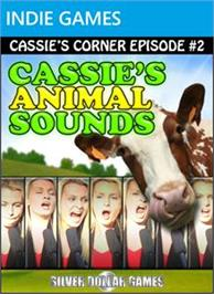 Box cover for Cassie's Animal Sounds on the Microsoft Xbox Live Arcade.