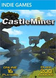 Box cover for CastleMiner on the Microsoft Xbox Live Arcade.