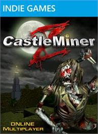 Box cover for CastleMiner Z on the Microsoft Xbox Live Arcade.