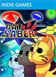 Box cover for CatSaber on the Microsoft Xbox Live Arcade.