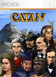 Box cover for Catan on the Microsoft Xbox Live Arcade.