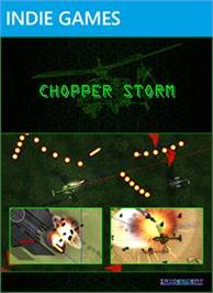 Box cover for Chopper Storm on the Microsoft Xbox Live Arcade.