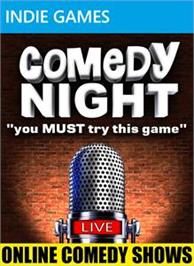 Box cover for Comedy Night on the Microsoft Xbox Live Arcade.