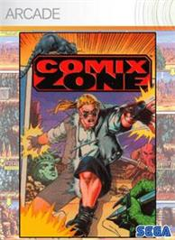 Box cover for Comix Zone on the Microsoft Xbox Live Arcade.