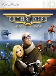 Box cover for Commanders: Attack on the Microsoft Xbox Live Arcade.
