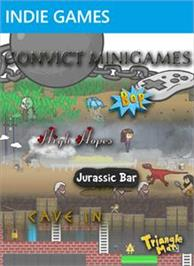 Box cover for Convict Minigames on the Microsoft Xbox Live Arcade.