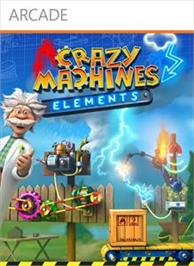 Box cover for Crazy Machines Elements on the Microsoft Xbox Live Arcade.