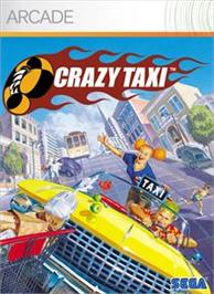 Box cover for Crazy Taxi on the Microsoft Xbox Live Arcade.