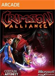 Box cover for Crimson Alliance on the Microsoft Xbox Live Arcade.