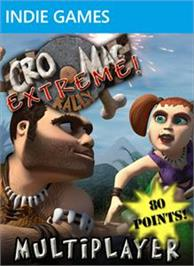 Box cover for Cro-Mag Rally® Extreme! on the Microsoft Xbox Live Arcade.