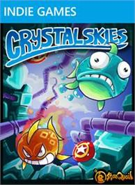 Box cover for Crystal Skies on the Microsoft Xbox Live Arcade.