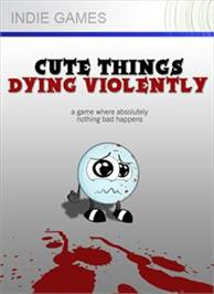 Box cover for Cute Things Dying Violently on the Microsoft Xbox Live Arcade.