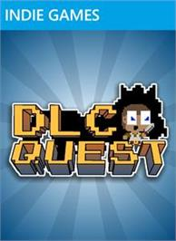 Box cover for DLC Quest on the Microsoft Xbox Live Arcade.