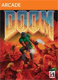 Box cover for DOOM on the Microsoft Xbox Live Arcade.