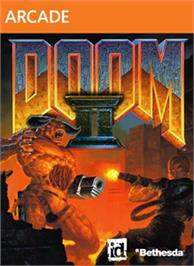 Box cover for DOOM II on the Microsoft Xbox Live Arcade.
