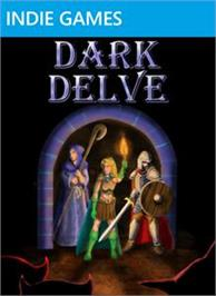 Box cover for Dark Delve on the Microsoft Xbox Live Arcade.