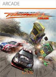 Box cover for Days of Thunder: Arcade on the Microsoft Xbox Live Arcade.