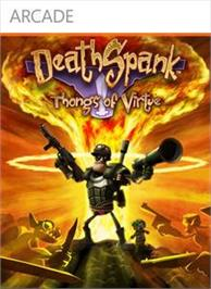 Box cover for DeathSpank: T.O.V. on the Microsoft Xbox Live Arcade.