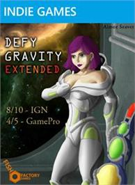 Box cover for Defy Gravity Extended on the Microsoft Xbox Live Arcade.