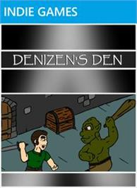 Box cover for Denizen's Den on the Microsoft Xbox Live Arcade.