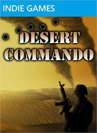 Box cover for Desert Commando on the Microsoft Xbox Live Arcade.