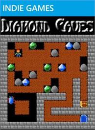 Box cover for Diamond Caves on the Microsoft Xbox Live Arcade.