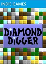 Box cover for Diamond Digger on the Microsoft Xbox Live Arcade.