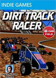 Box cover for Dirt Track Racer on the Microsoft Xbox Live Arcade.