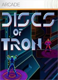 Box cover for Discs Of Tron on the Microsoft Xbox Live Arcade.