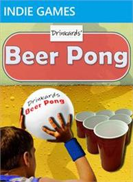 Box cover for Drinkards Beer Pong on the Microsoft Xbox Live Arcade.