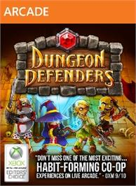 Box cover for Dungeon Defenders on the Microsoft Xbox Live Arcade.