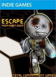 Box cover for Escape From Robot Doom on the Microsoft Xbox Live Arcade.