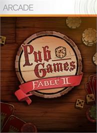 Box cover for Fable® II Pub Games on the Microsoft Xbox Live Arcade.