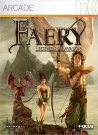Box cover for Faery: Legends of Avalon on the Microsoft Xbox Live Arcade.