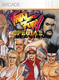 Box cover for Fatal Fury Special on the Microsoft Xbox Live Arcade.
