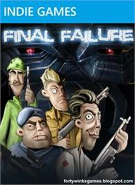 Box cover for Final Failure on the Microsoft Xbox Live Arcade.