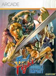 Box cover for Final Fight: DblImpact on the Microsoft Xbox Live Arcade.
