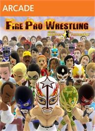 Box cover for Fire Pro Wrestling on the Microsoft Xbox Live Arcade.