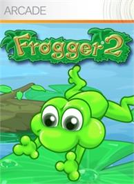 Box cover for Frogger® 2 on the Microsoft Xbox Live Arcade.