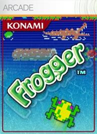Box cover for Frogger on the Microsoft Xbox Live Arcade.