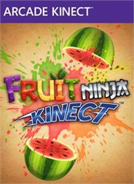 Box cover for Fruit Ninja Kinect on the Microsoft Xbox Live Arcade.